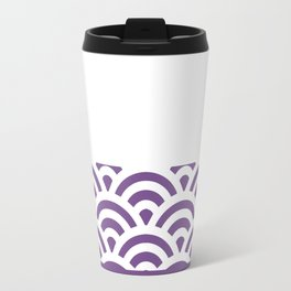 Rainbow Trim Ultraviolet Travel Mug