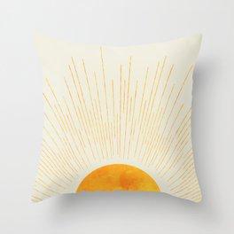 Boho Sunrise  Throw Pillow
