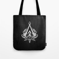 assassins creed Tote Bags featuring ASSASSINS creed    by Thorin