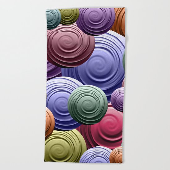 Swirl Pile Beach Towel
