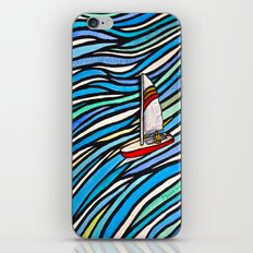 Wind Over Water iPhone & iPod Skin