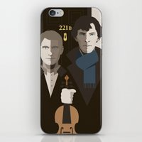 british iPhone & iPod Skins featuring British Gothic by Danny Haas