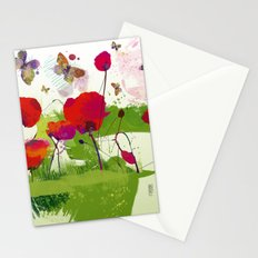 Spring's coming Stationery Cards
