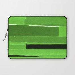 Green Monochromatic Laptop Sleeve