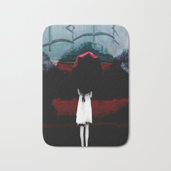Heaven Is Perfect For Hell Bath Mat
