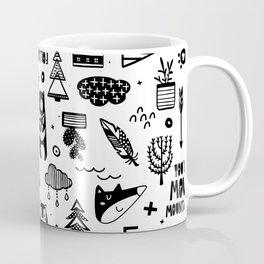 Wild And Free, Scandinavian Kids Coffee Mug
