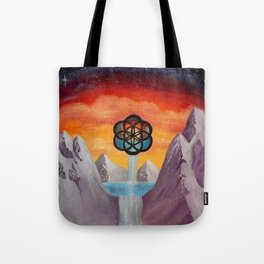The Seed Of Life Tote Bag
