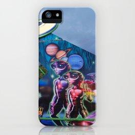 Do aliens exist? iPhone Case