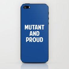 X-Men - Mutant and proud iPhone & iPod Skin