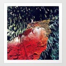 receptors - a hugo barros remix :) Art Print