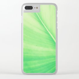 tropical plant 9 Clear iPhone Case