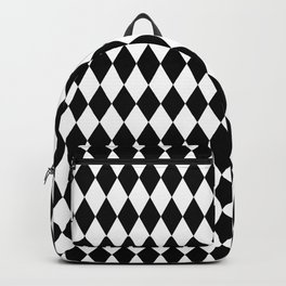 Jester Black and White Backpack