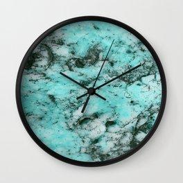 Marbalicious Blue Wall Clock