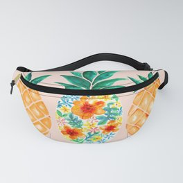TROPICAL PINEAPPLES in fresh summer vibes Fanny Pack