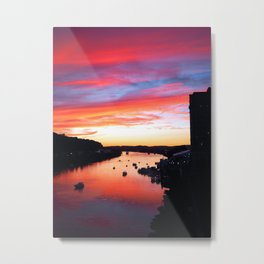 Charleston Sunset Metal Print