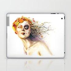 Lady Autumn Laptop & iPad Skin
