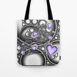 Heart Of The Machine Tote Bag