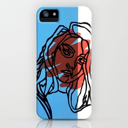 Scribble iPhone Case