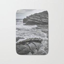 Dramatic coastline Bath Mat