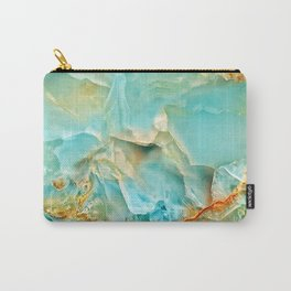 Onyx - blue and orange Carry-All Pouch