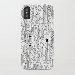 Little Escher's Building Blocks iPhone Case