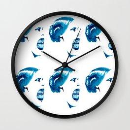 LAST WORDS//SUSAN B ANTHONY Wall Clock