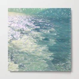 Sea Painting Maravellous Effect with brushes Metal Print