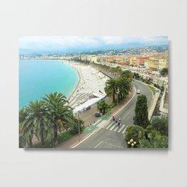 Promenade des Anglais, Nice, France Metal Print