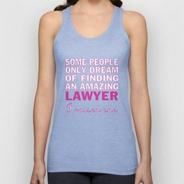 LAWYER'S MOM Unisex Tank Top
