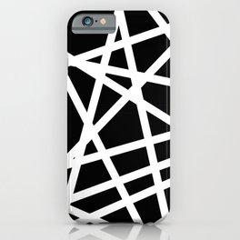 Lazer Dance B&W 1 iPhone Case