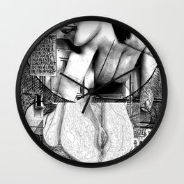 The constellation erotique 3127 Wall Clock