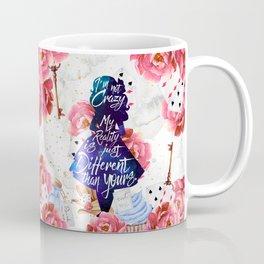 Alice in Wonderland - I'm Not Crazy Coffee Mug