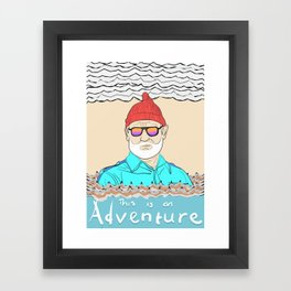 This is an Adventure Framed Art Print