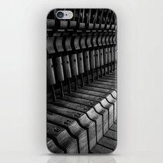 Silent Piano Keys iPhone & iPod Skin