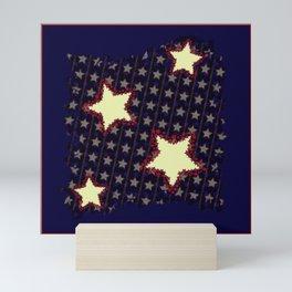 Stars & Stripes Mini Art Print