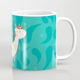 U is for unicorn Coffee Mug