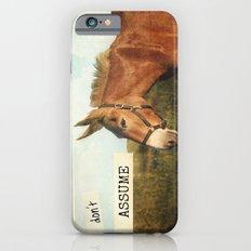 ASS*U*ME iPhone 6s Slim Case