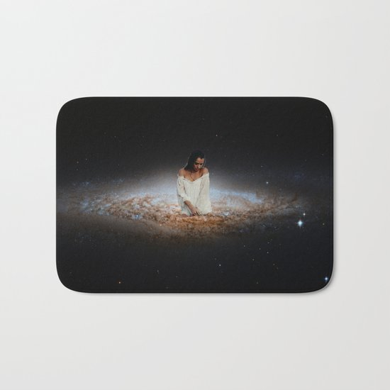 Girl from the Universe Bath Mat