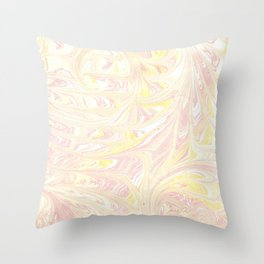 ebru Throw Pillow