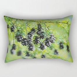 Snoqualmie Cones Rectangular Pillow