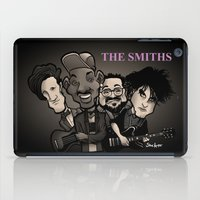 smiths iPad Cases featuring The Smiths (black version) by BinaryGod.com