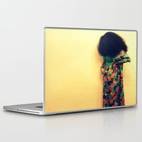 afro Laptop & iPad Skins featuring Afro by 2sweet4words Designs