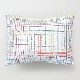 The System - line motif Pillow Sham