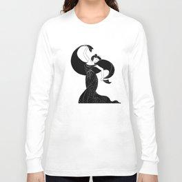 Nyx - Goddess of  the night Long Sleeve T-shirt