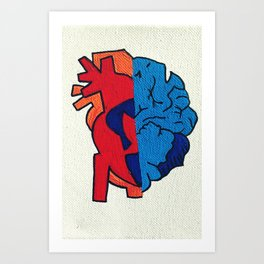 Because Art Print