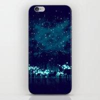 safari iPhone & iPod Skins featuring Cosmic Safari by dan elijah g. fajardo