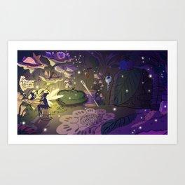 Tinkerbell's Boudoir Art Print