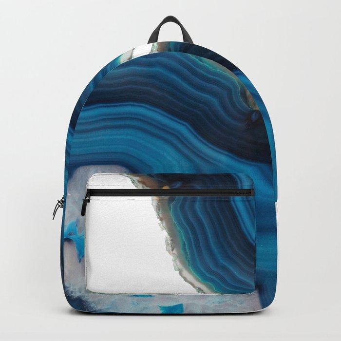 Blue Agate Backpack