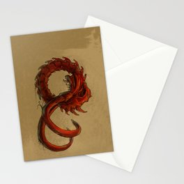 Bio-Elephant Skull Stationery Cards