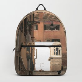 living in Venice 2  Venitian street life simply Backpack